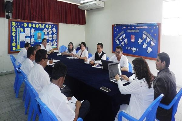 Nuestro Colegio recibe la visita de los Miembros del Consorcio de Colegios Católicos y la Acreditación Internacional